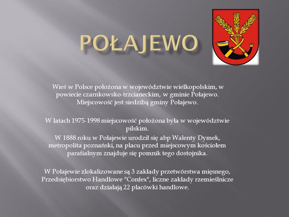 W latach 1975-1998 miejscowość położona była w województwie pilskim.