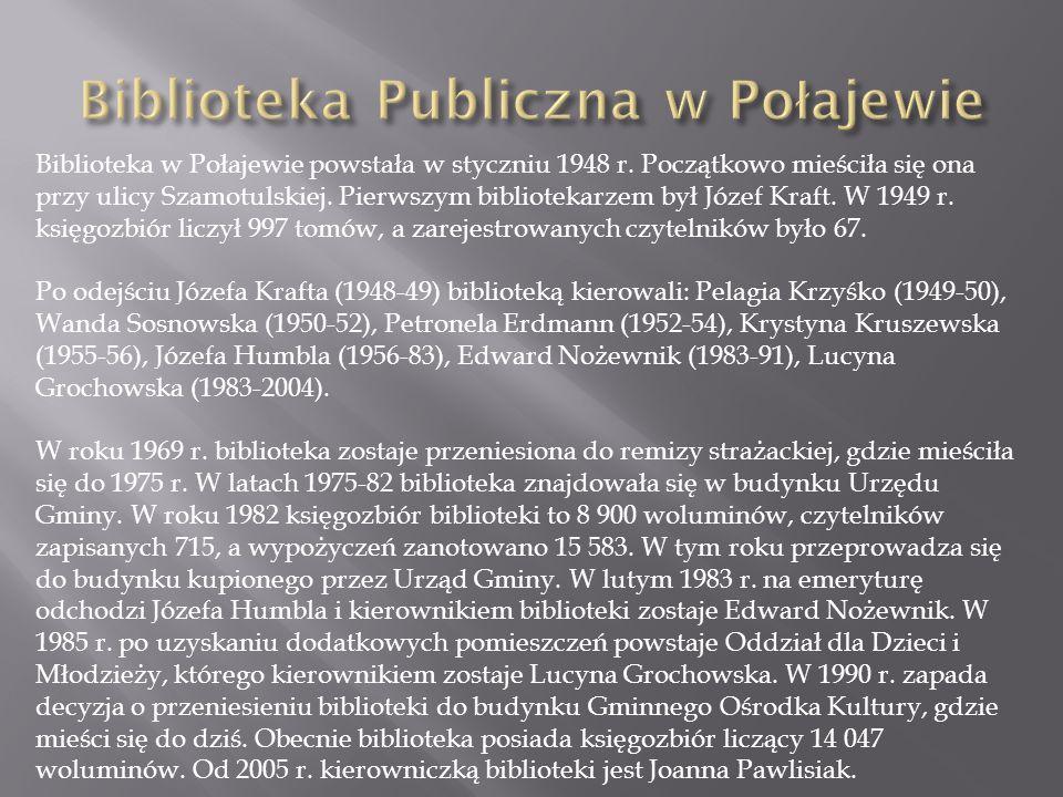 Biblioteka Publiczna w Połajewie