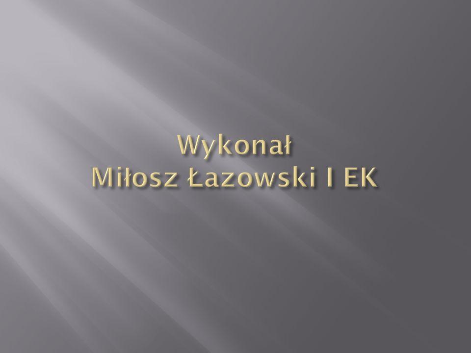 Wykonał Miłosz Łazowski I EK