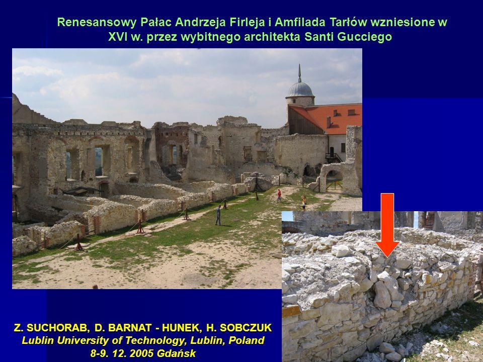 Renesansowy Pałac Andrzeja Firleja i Amfilada Tarłów wzniesione w XVI w. przez wybitnego architekta Santi Gucciego