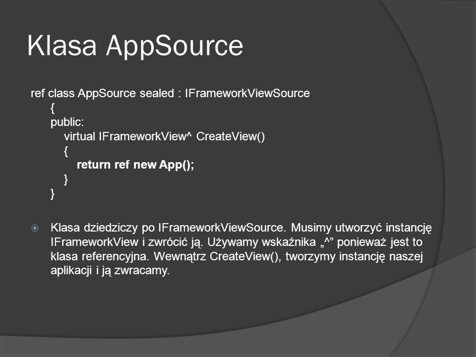 Klasa AppSource