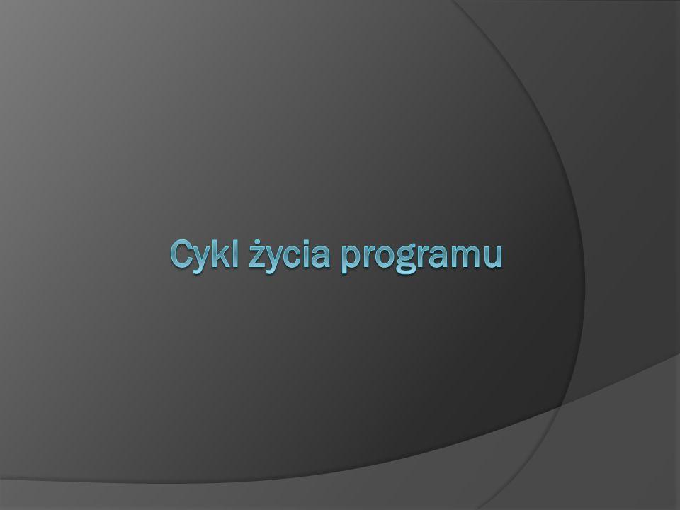 Cykl życia programu