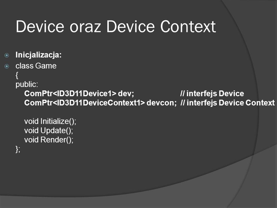 Device oraz Device Context