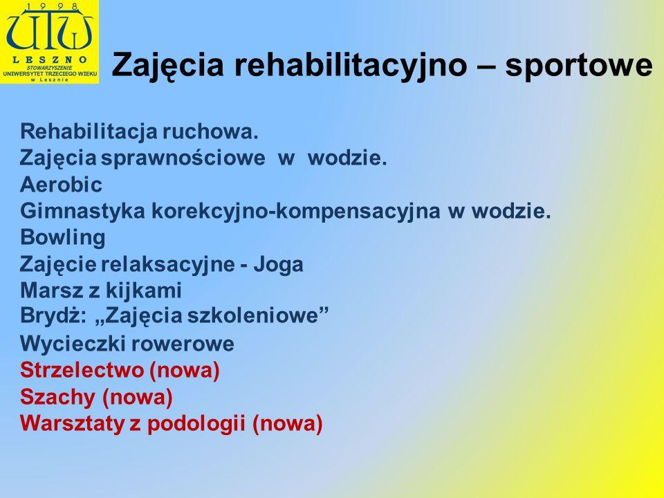 Zajęcia rehabilitacyjno – sportowe