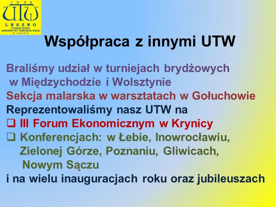 Współpraca z innymi UTW
