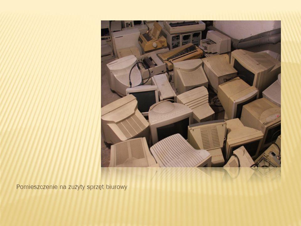 Pomieszczenie na zużyty sprzęt biurowy