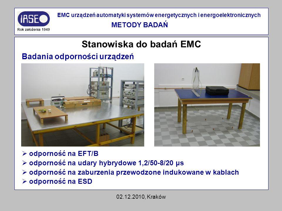 Stanowiska do badań EMC