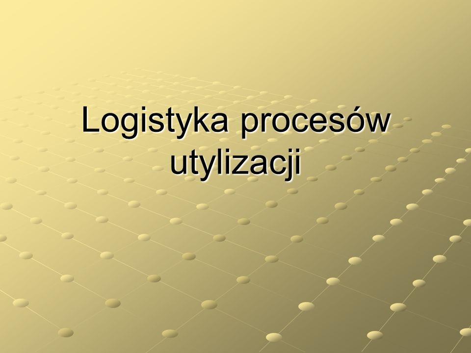 Logistyka procesów utylizacji