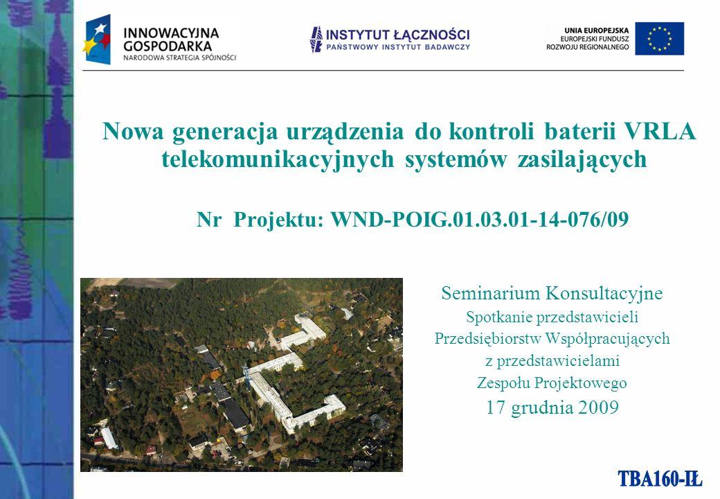 Nr Projektu: WND-POIG.01.03.01-14-076/09