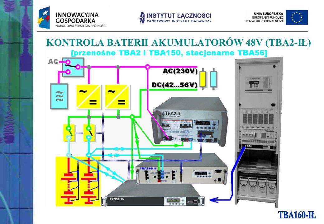 KONTROLA BATERII AKUMULATORÓW 48V (TBA2-IŁ)