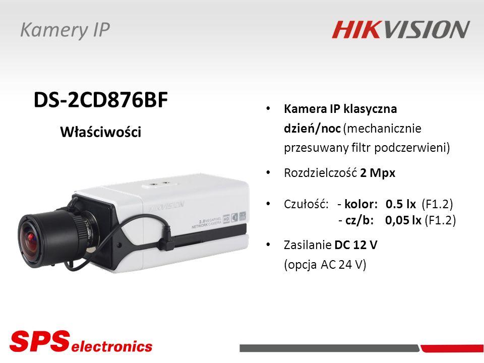 DS-2CD876BF Właściwości Kamery IP Kamera IP klasyczna