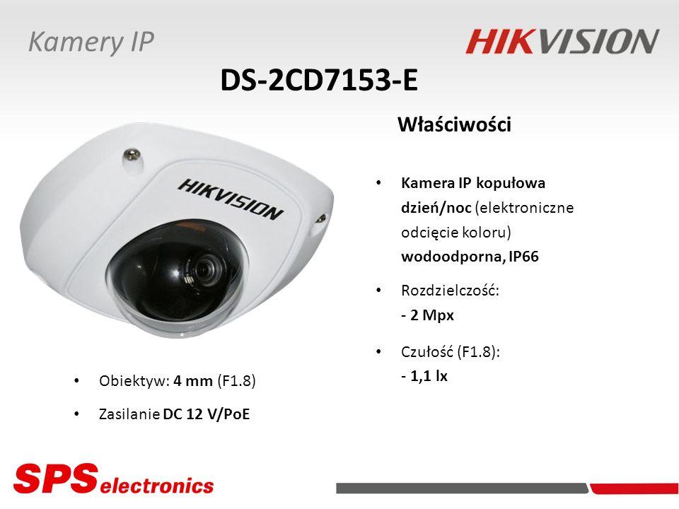 DS-2CD7153-E Właściwości Kamery IP Kamera IP kopułowa