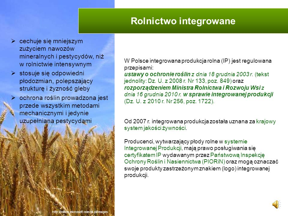 Rolnictwo integrowane