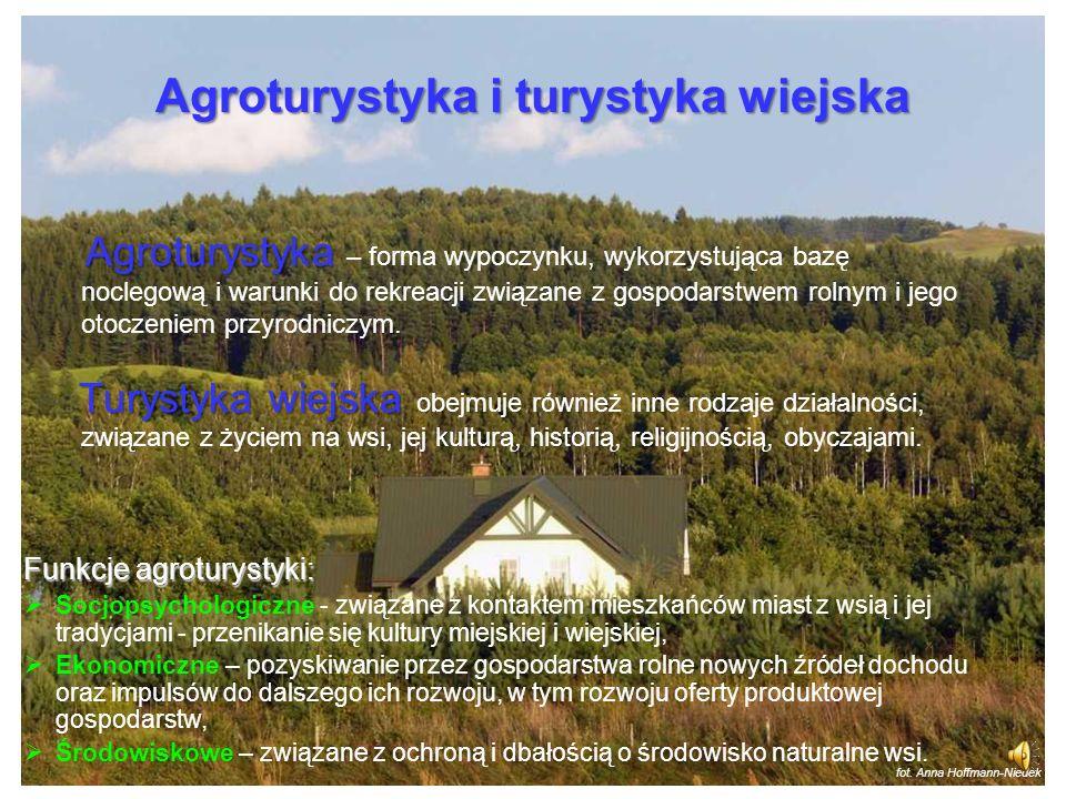 Agroturystyka i turystyka wiejska