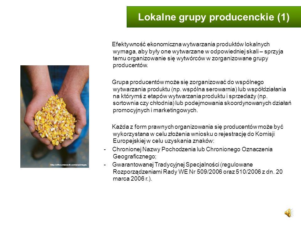 Lokalne grupy producenckie (1)