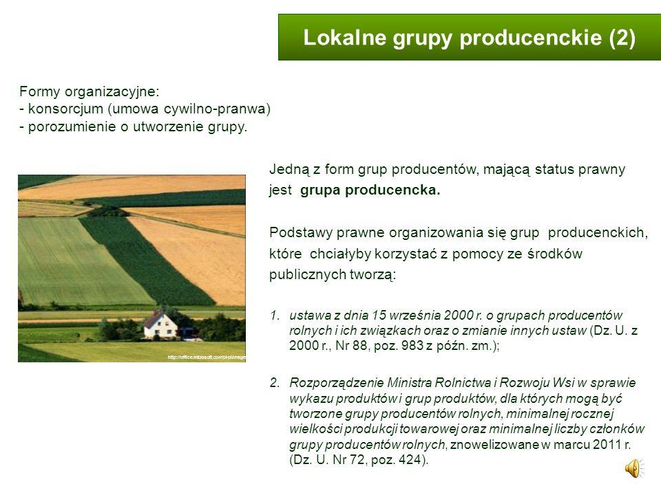 Lokalne grupy producenckie (2)