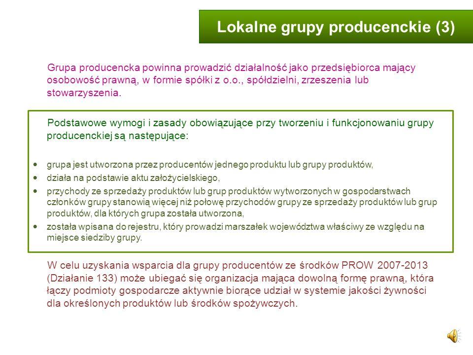 Lokalne grupy producenckie (3)