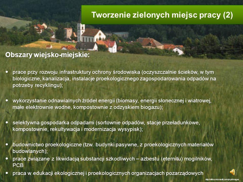 Tworzenie zielonych miejsc pracy (2)