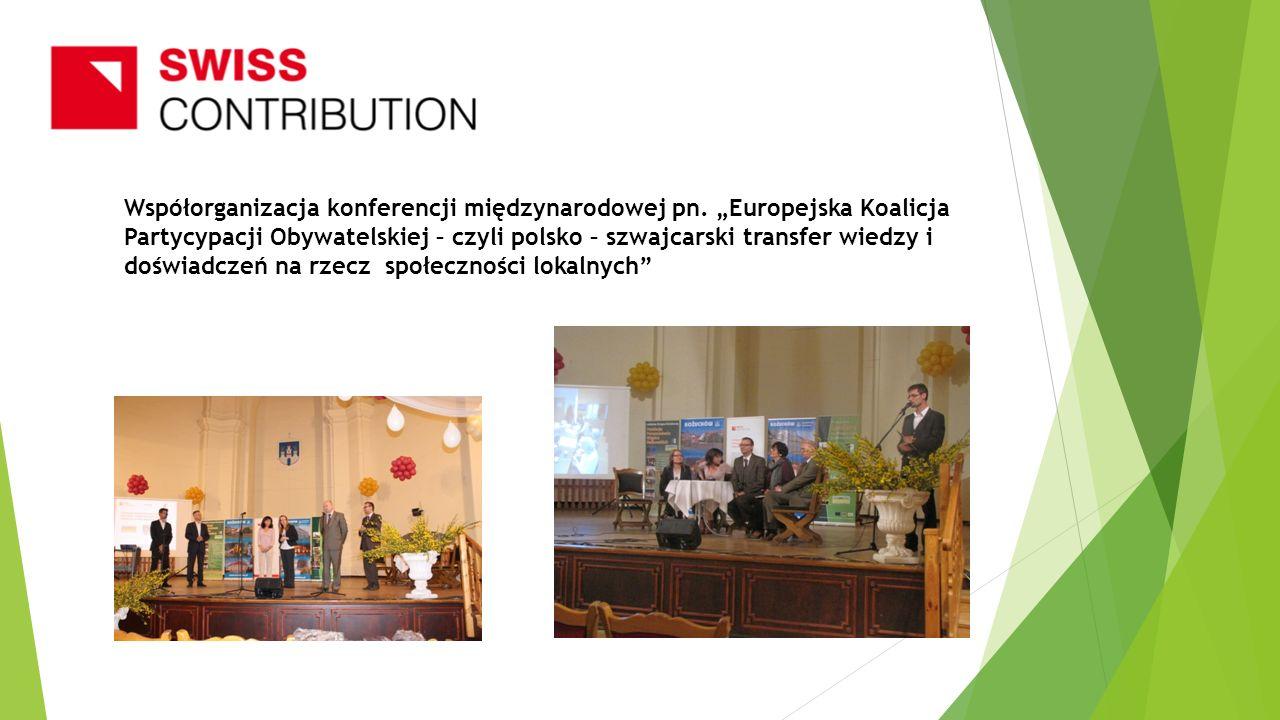 Współorganizacja konferencji międzynarodowej pn