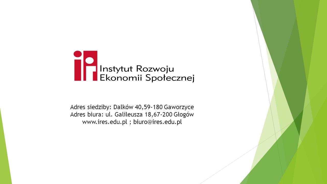 Adres siedziby: Dalków 40,59-180 Gaworzyce