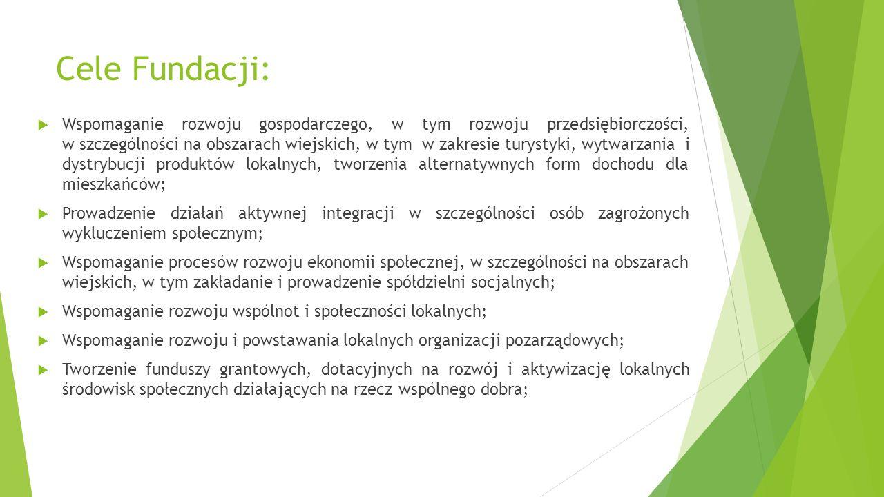 Cele Fundacji: