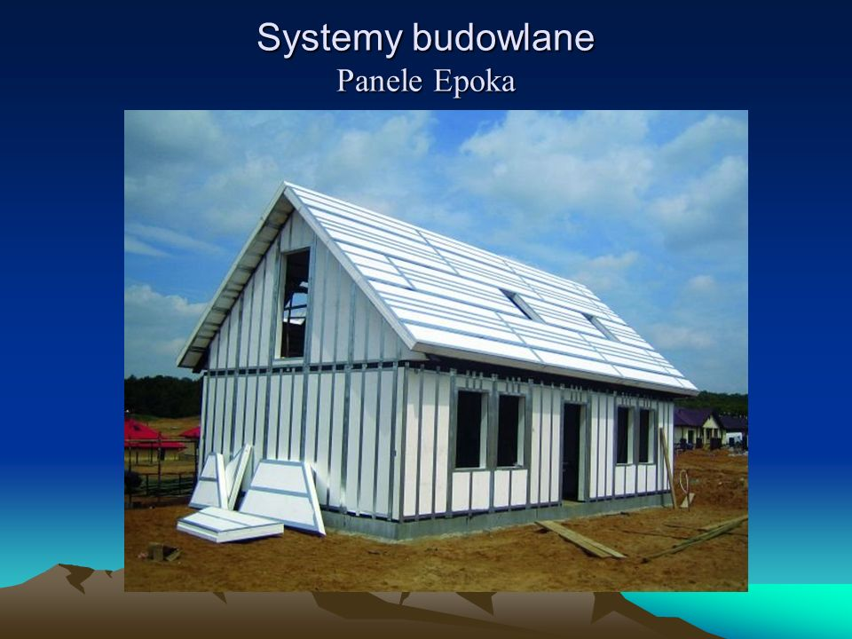 Systemy budowlane Panele Epoka