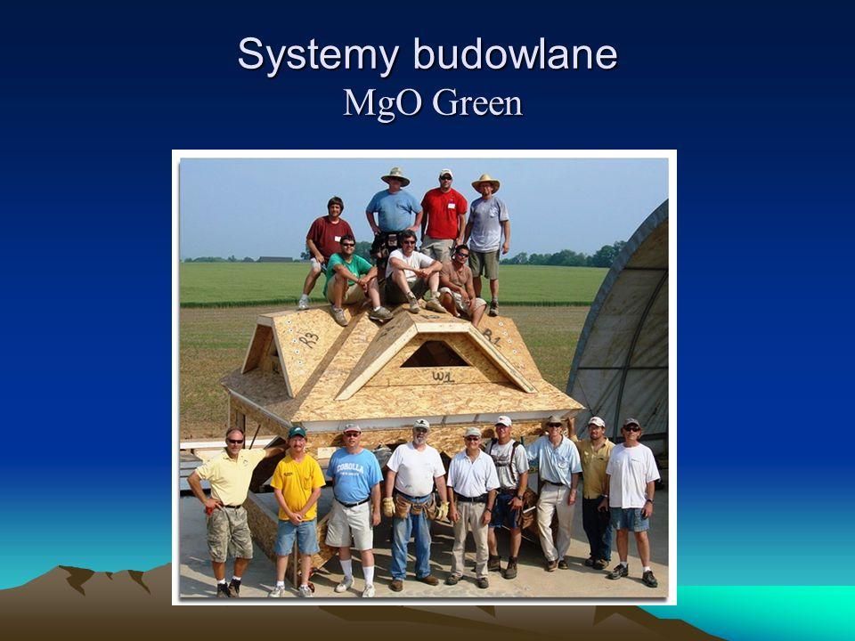 Systemy budowlane MgO Green