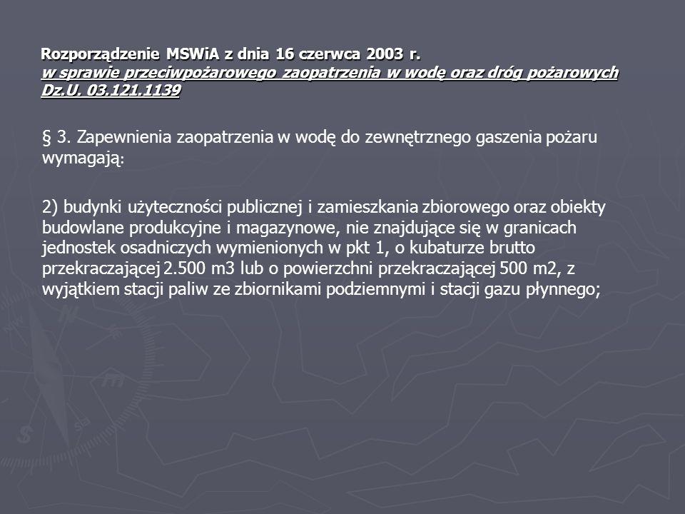Rozporządzenie MSWiA z dnia 16 czerwca 2003 r