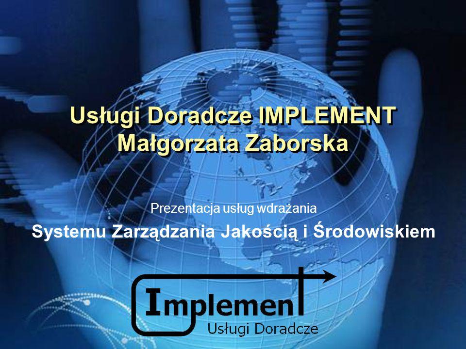 Usługi Doradcze IMPLEMENT Małgorzata Zaborska