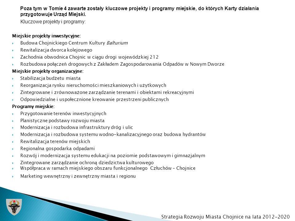 Kluczowe projekty i programy: