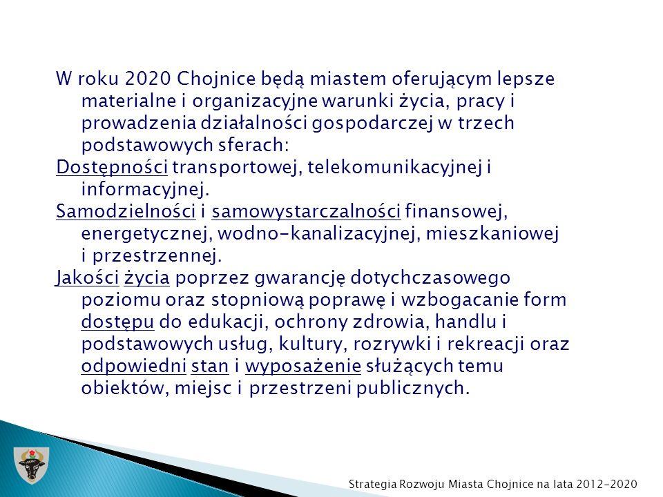 Dostępności transportowej, telekomunikacyjnej i informacyjnej.