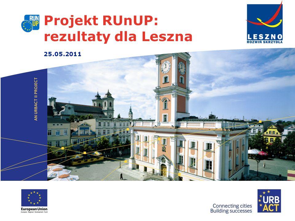 Projekt RUnUP: rezultaty dla Leszna 25.05.2011