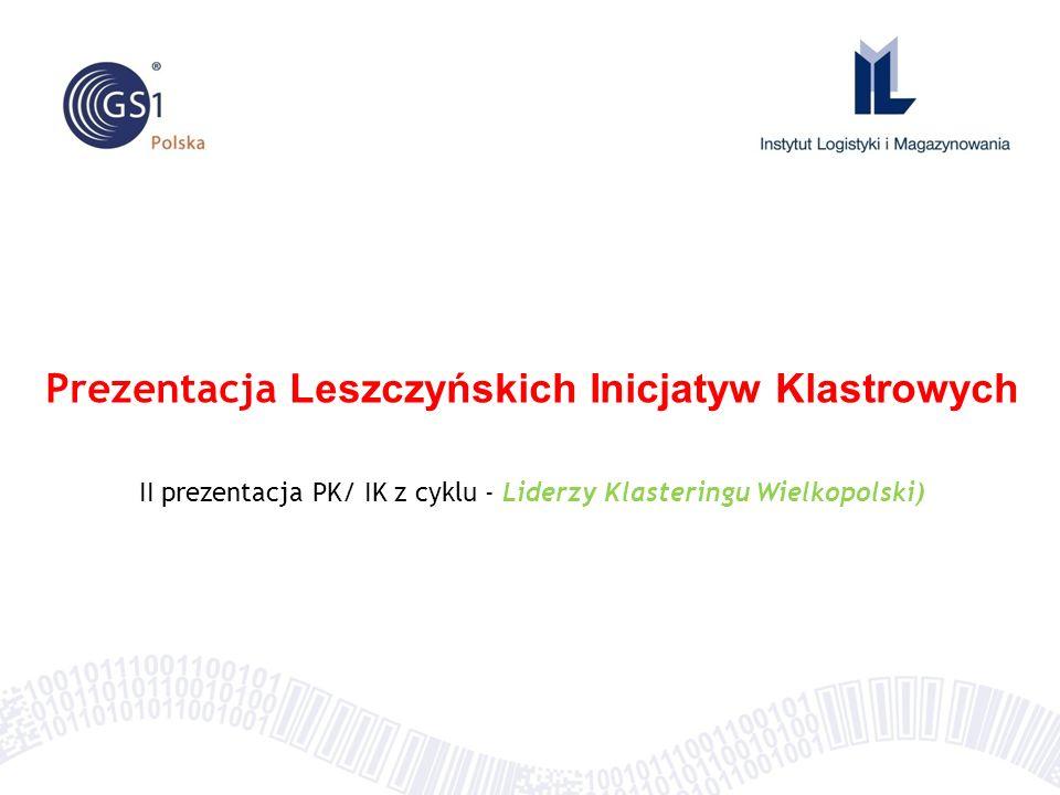 Prezentacja Leszczyńskich Inicjatyw Klastrowych