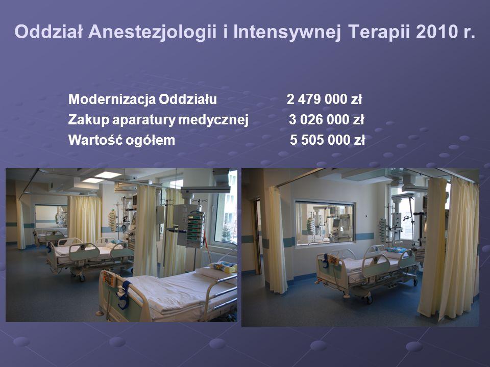 Oddział Anestezjologii i Intensywnej Terapii 2010 r.