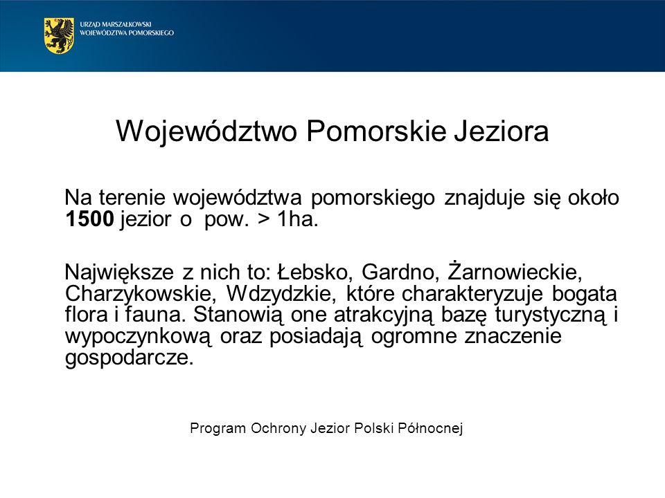 Województwo Pomorskie Jeziora