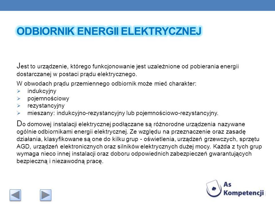 Odbiornik energii elektrycznej