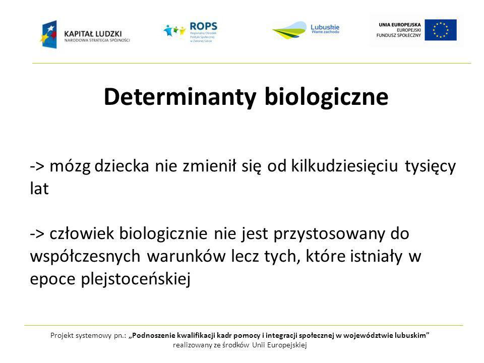 Determinanty biologiczne