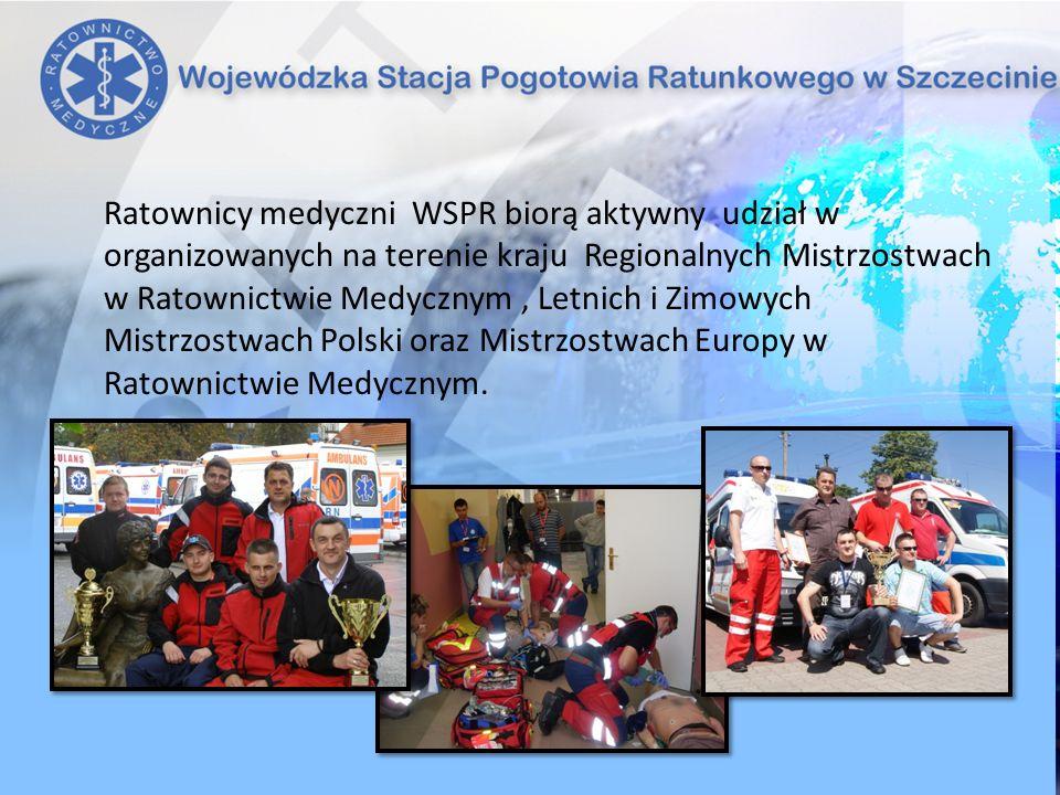 Ratownicy medyczni WSPR biorą aktywny udział w organizowanych na terenie kraju Regionalnych Mistrzostwach w Ratownictwie Medycznym , Letnich i Zimowych Mistrzostwach Polski oraz Mistrzostwach Europy w Ratownictwie Medycznym.
