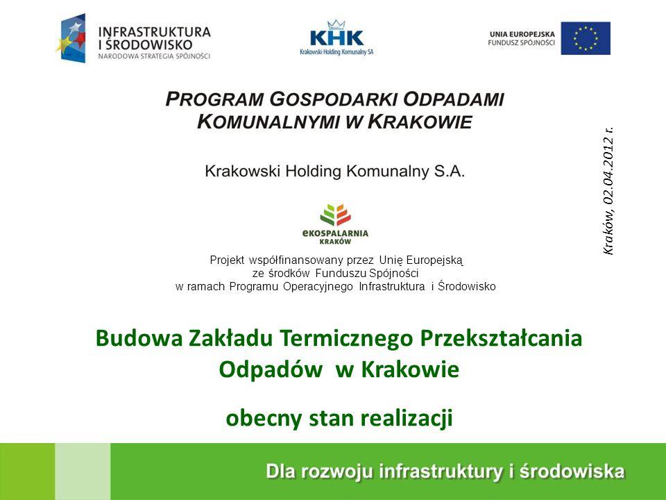 Budowa Zakładu Termicznego Przekształcania Odpadów w Krakowie