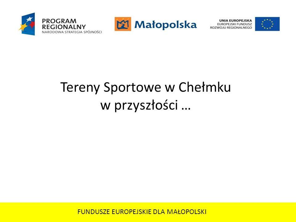 Tereny Sportowe w Chełmku w przyszłości …