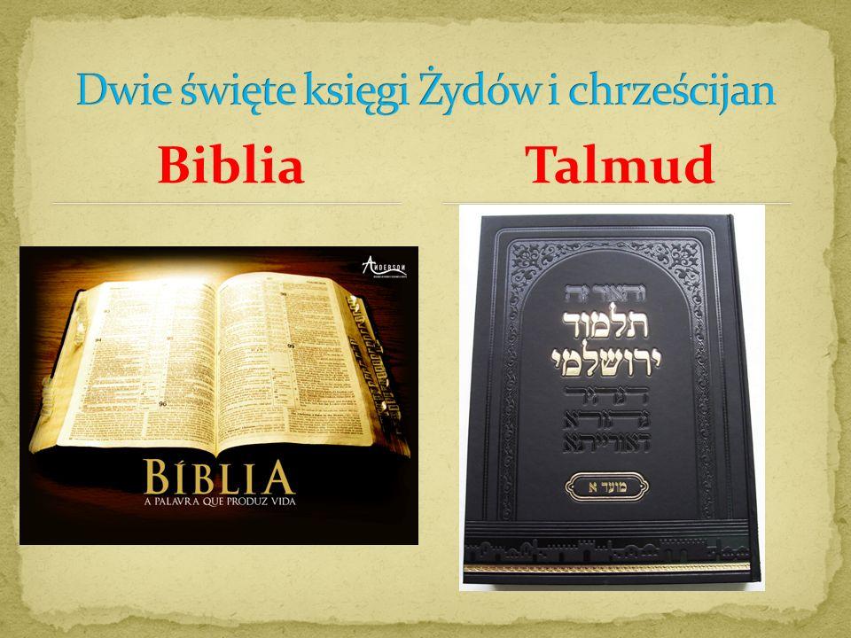 Dwie święte księgi Żydów i chrześcijan