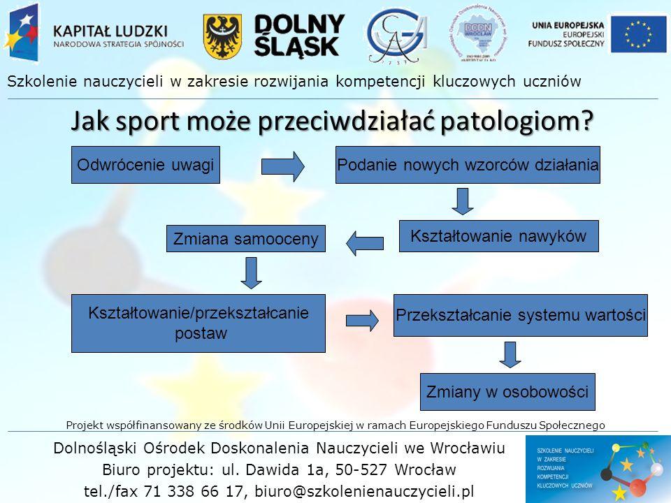 Jak sport może przeciwdziałać patologiom