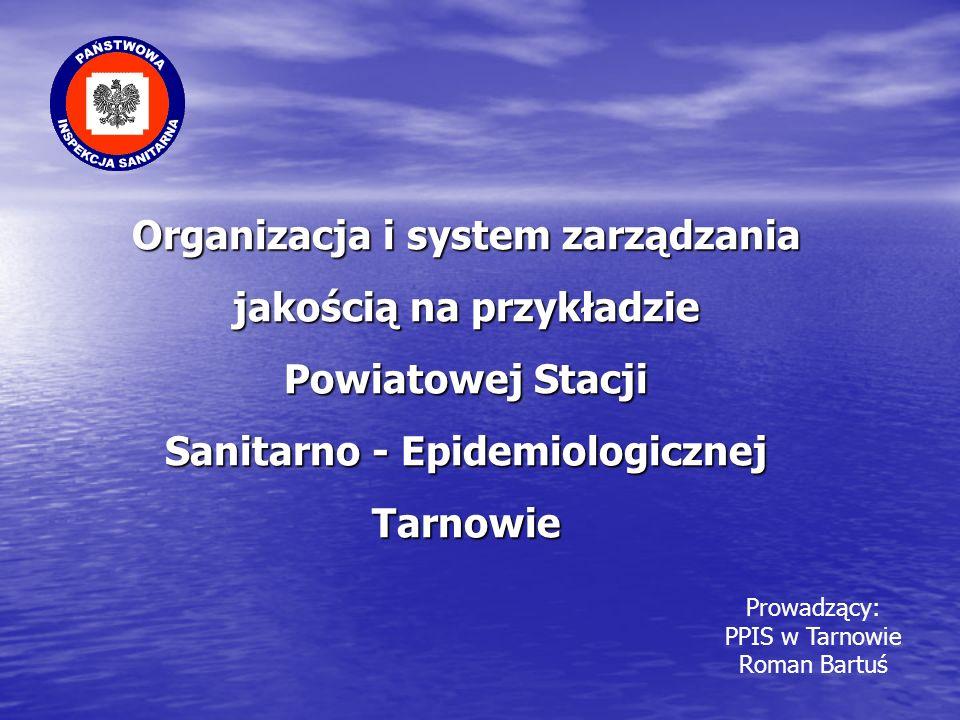 Organizacja i system zarządzania jakością na przykładzie Powiatowej Stacji Sanitarno - Epidemiologicznej Tarnowie