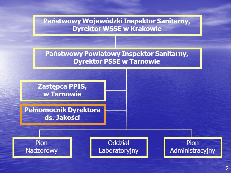 Państwowy Wojewódzki Inspektor Sanitarny, Dyrektor WSSE w Krakowie
