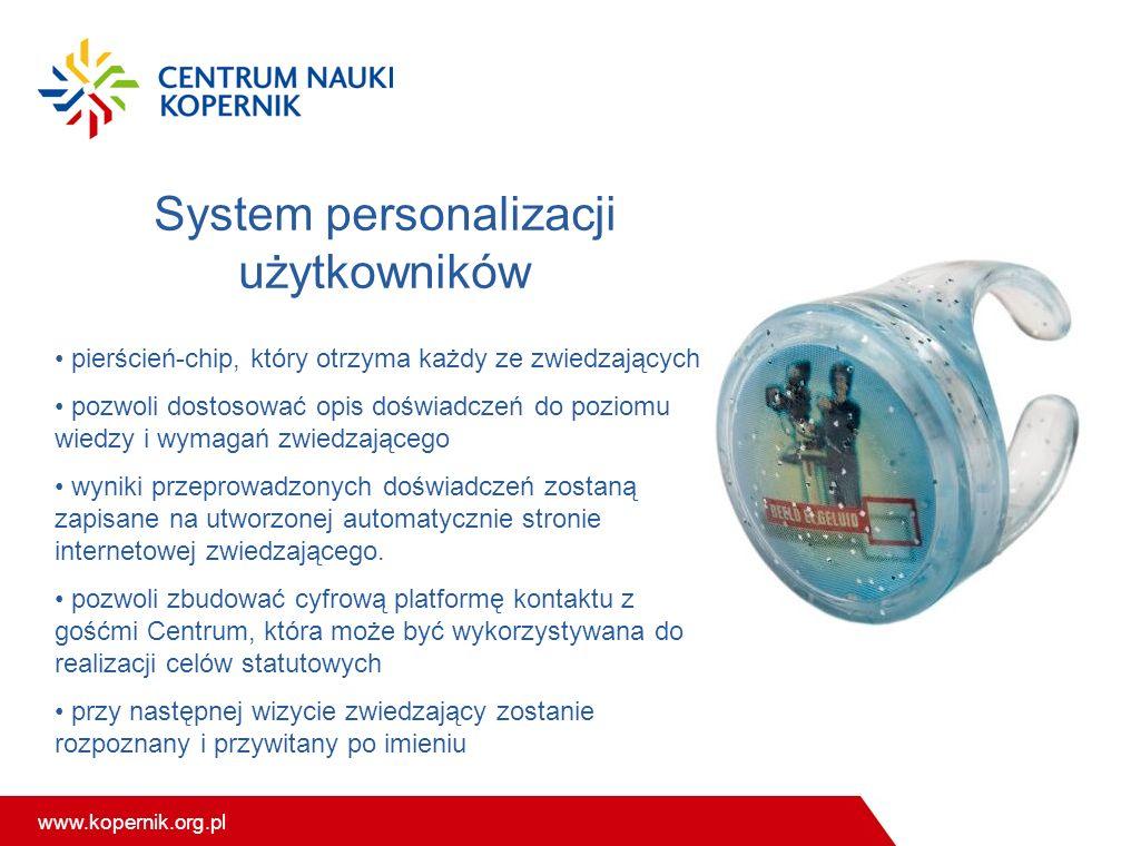 System personalizacji użytkowników