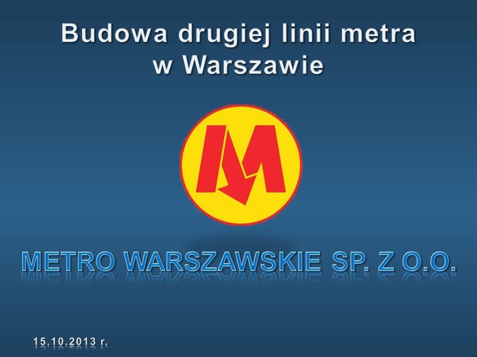 Budowa drugiej linii metra Metro Warszawskie Sp. z o.o.