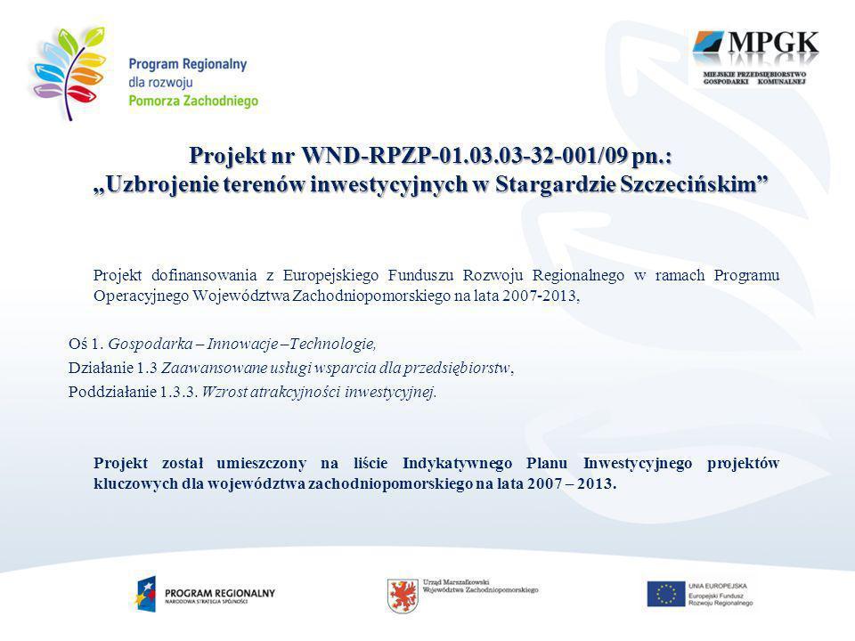 Projekt nr WND-RPZP-01. 03. 03-32-001/09 pn