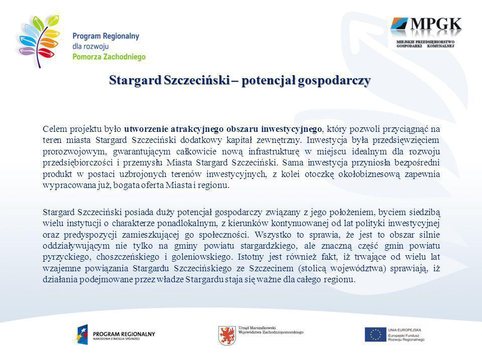 Stargard Szczeciński – potencjał gospodarczy