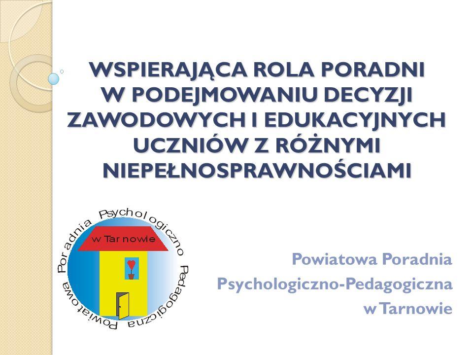 Powiatowa Poradnia Psychologiczno-Pedagogiczna w Tarnowie