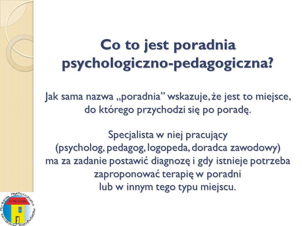 Co to jest poradnia psychologiczno-pedagogiczna